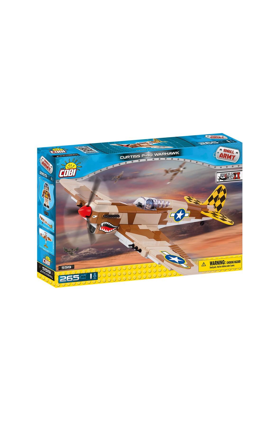 Klocki COBI Amerykański myśliwiec 265el