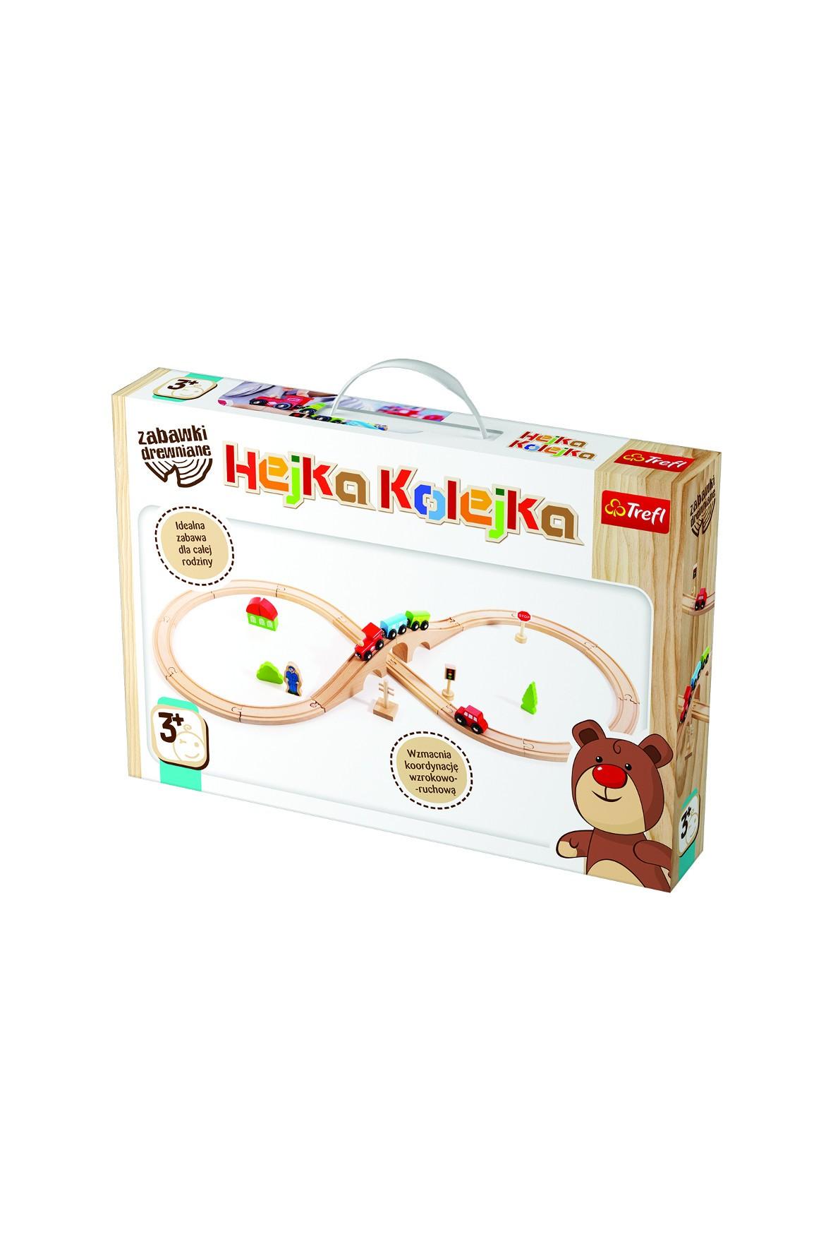 Zabawka drewniana - Hejka Kolejka Trefl