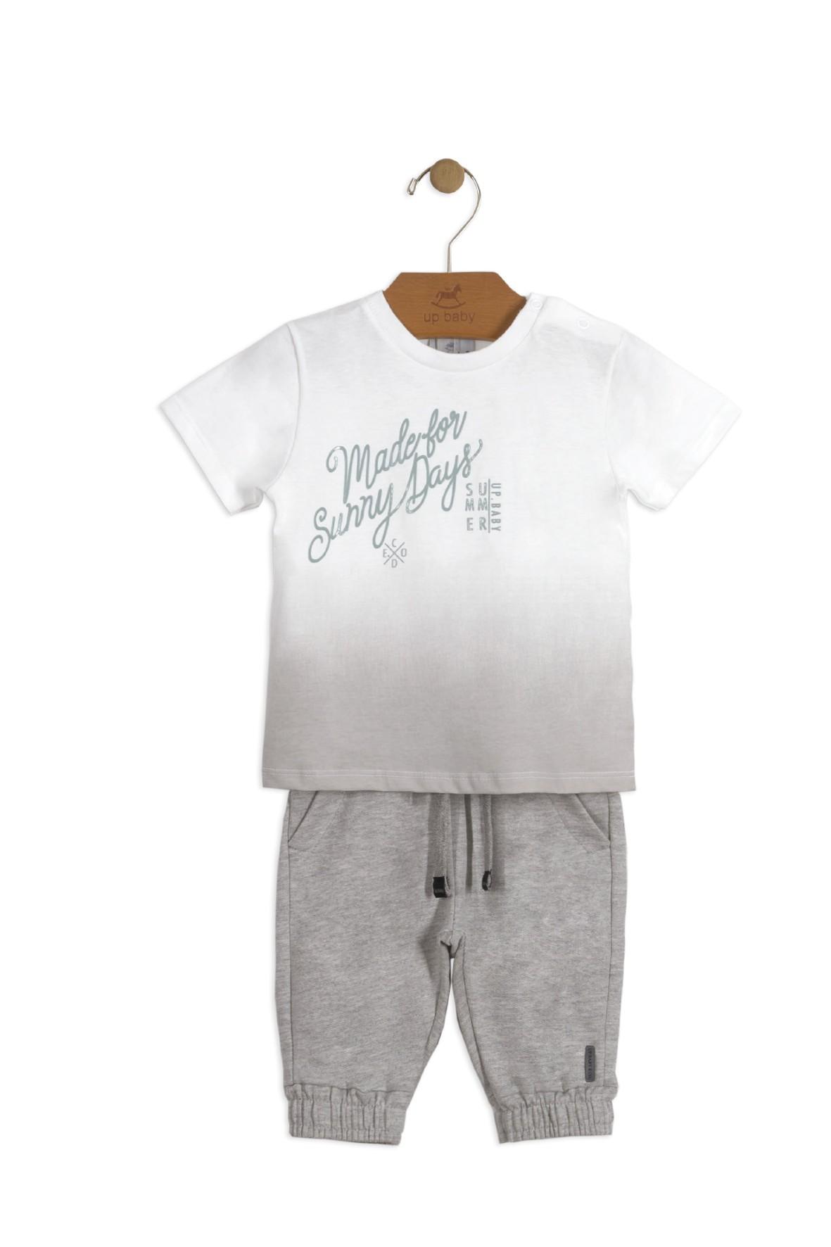 Komplet niemowlęcy spodnie dresowe i tshirt