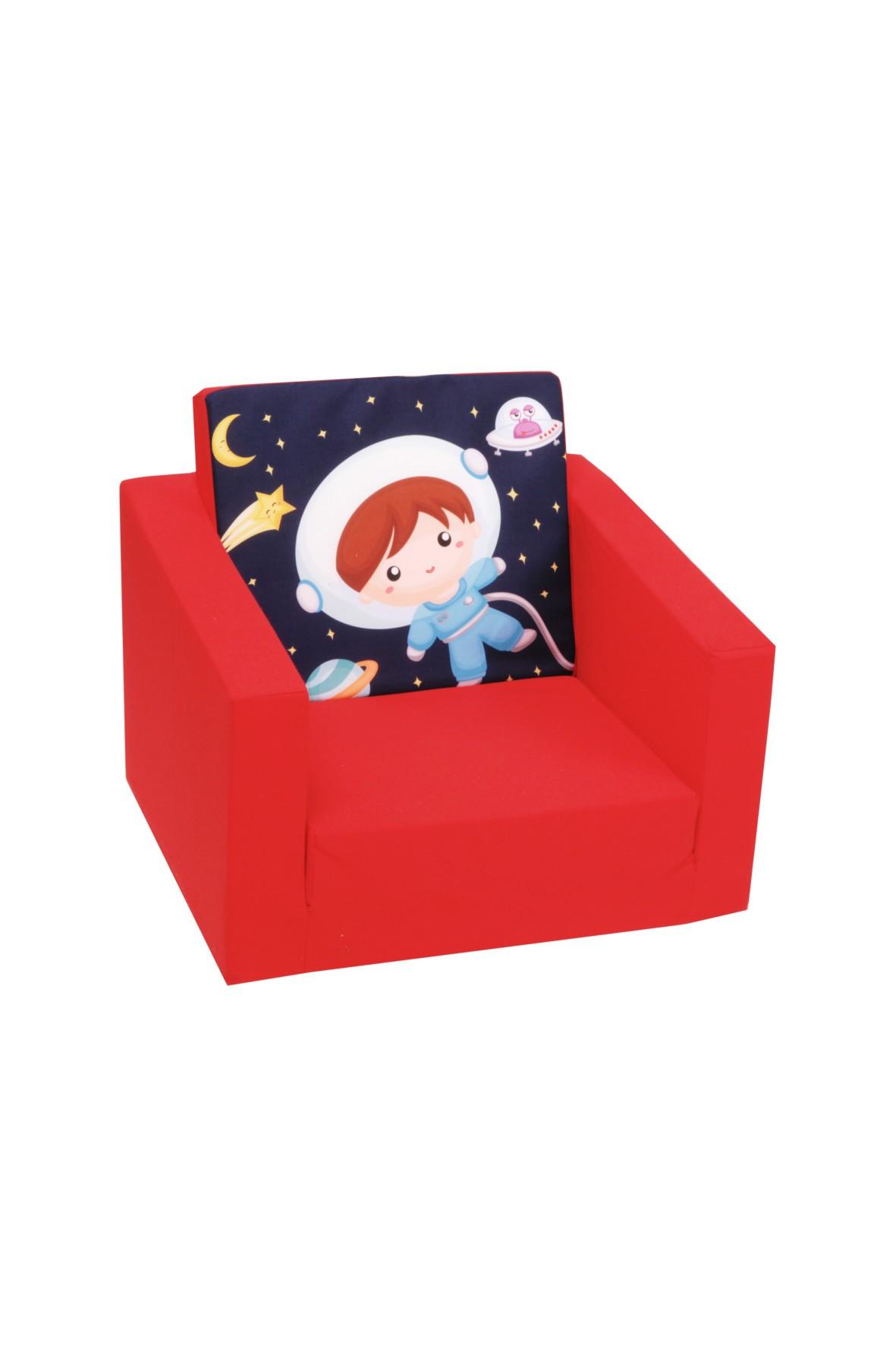 Rozkładany fotelik piankowy dla dziecka Delsit Astronauta