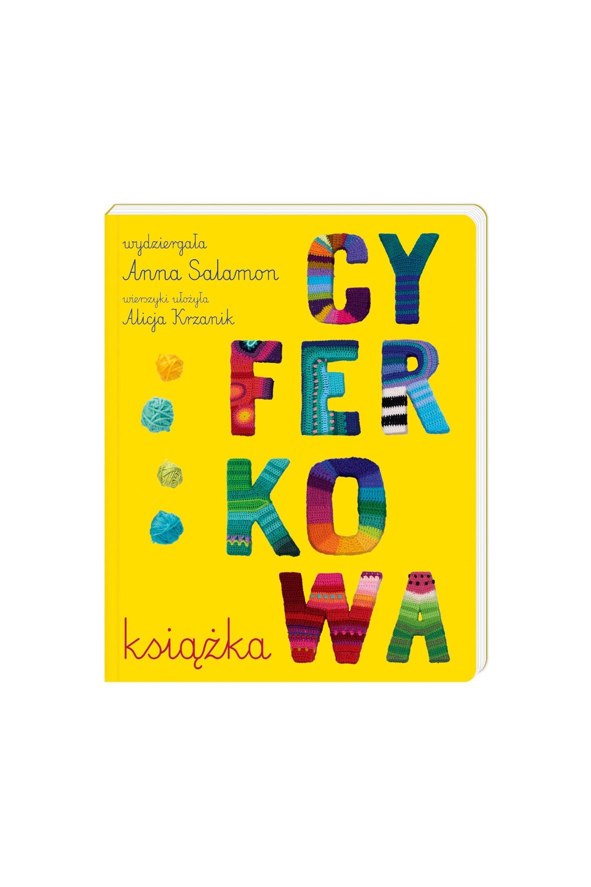 Książka dziecięca - Cyferkowa książka