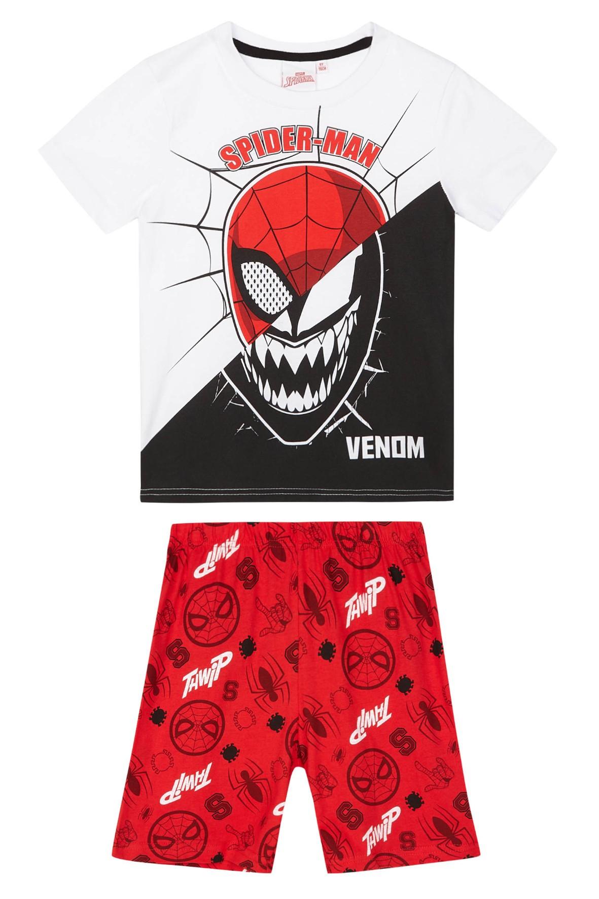 Kolorowa piżama chłopięca Spiderman