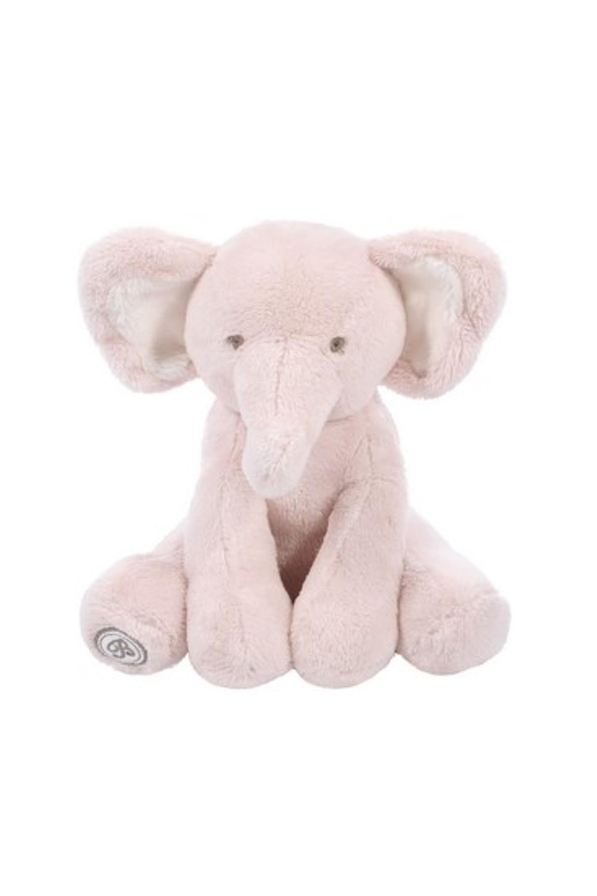 Pluszak Słoń Dominique różowy wysokość 15cm