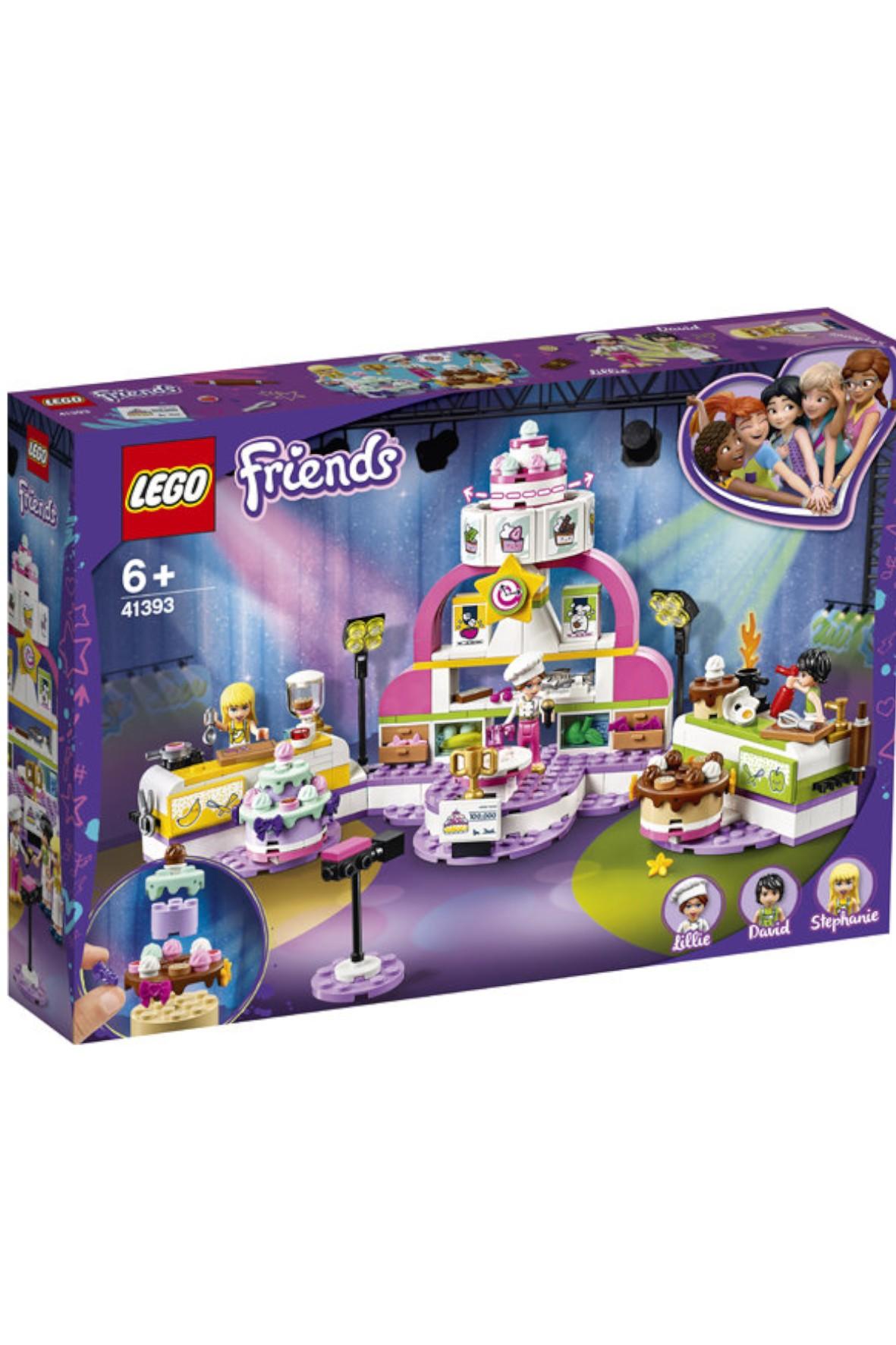 Lego Friends - Konkurs pieczenia - 361 elementów