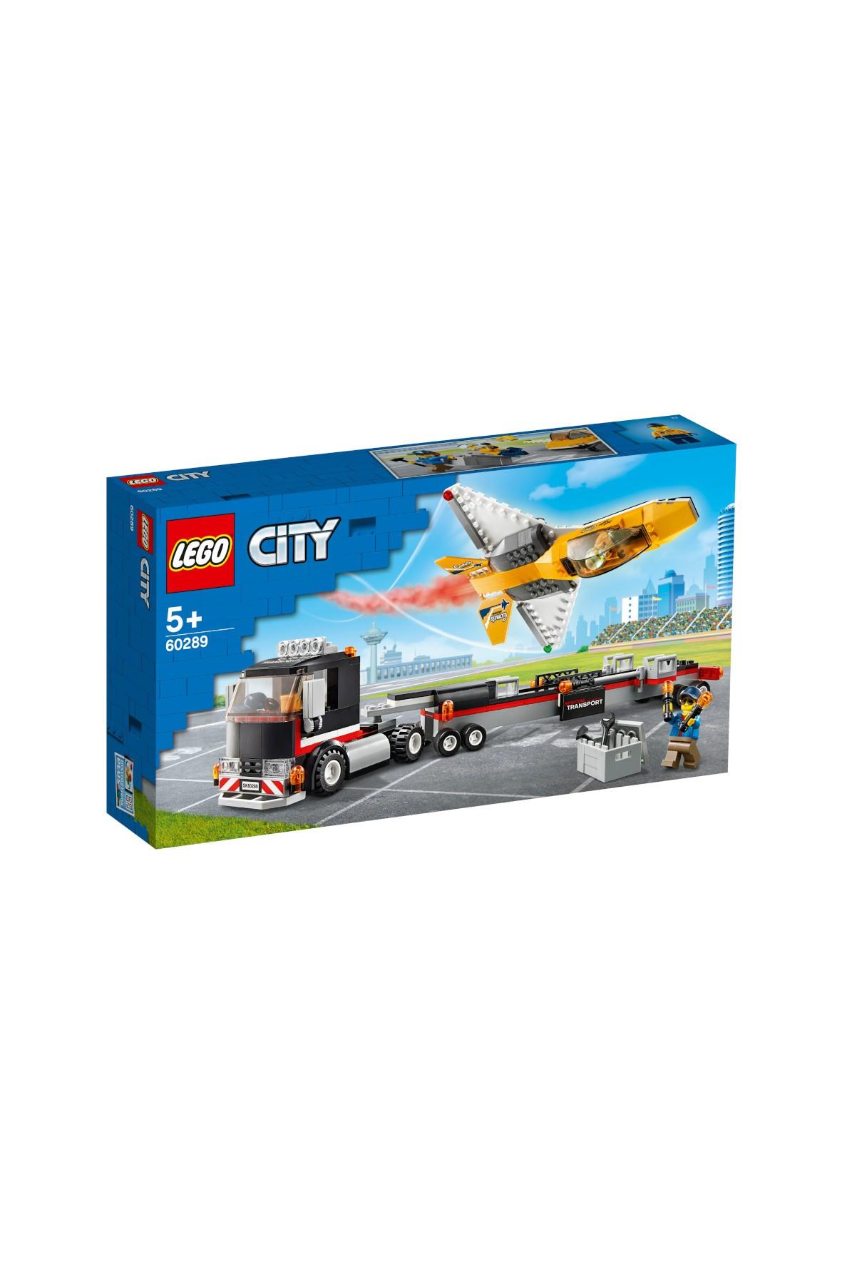 LEGO City - Transporter odrzutowca pokazowego -281 elementów