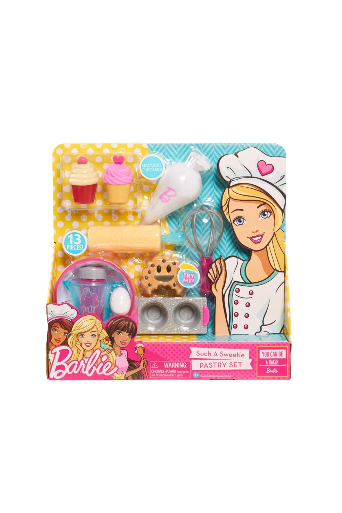 Barbie zestaw kulinarny