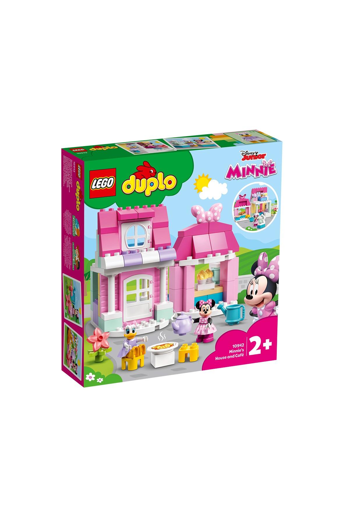 LEGO® DUPLO® ǀ Disney Dom i kawiarnia Myszki Minnie 10942  - 91 el wiek 2+