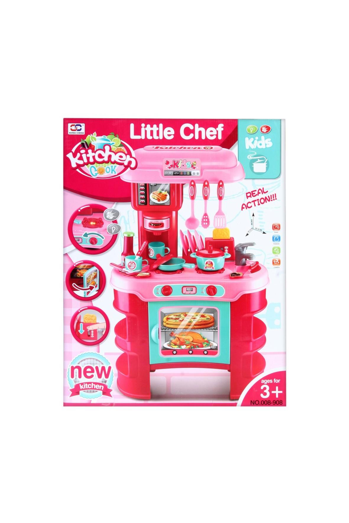 Kuchnia z akcesoriami- zabawka