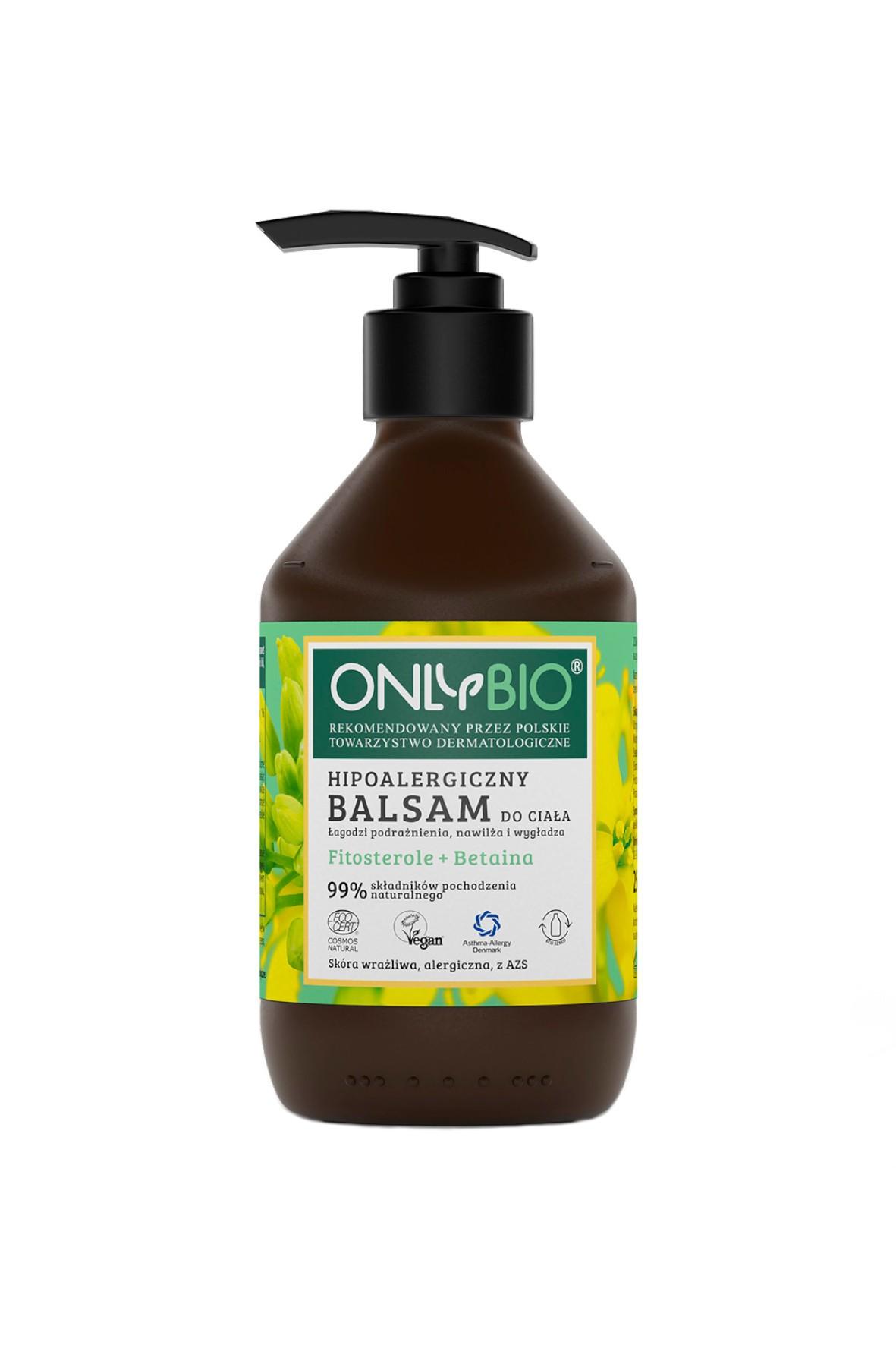 Hipoalergiczny balsam do ciała OnlyBio 250ml