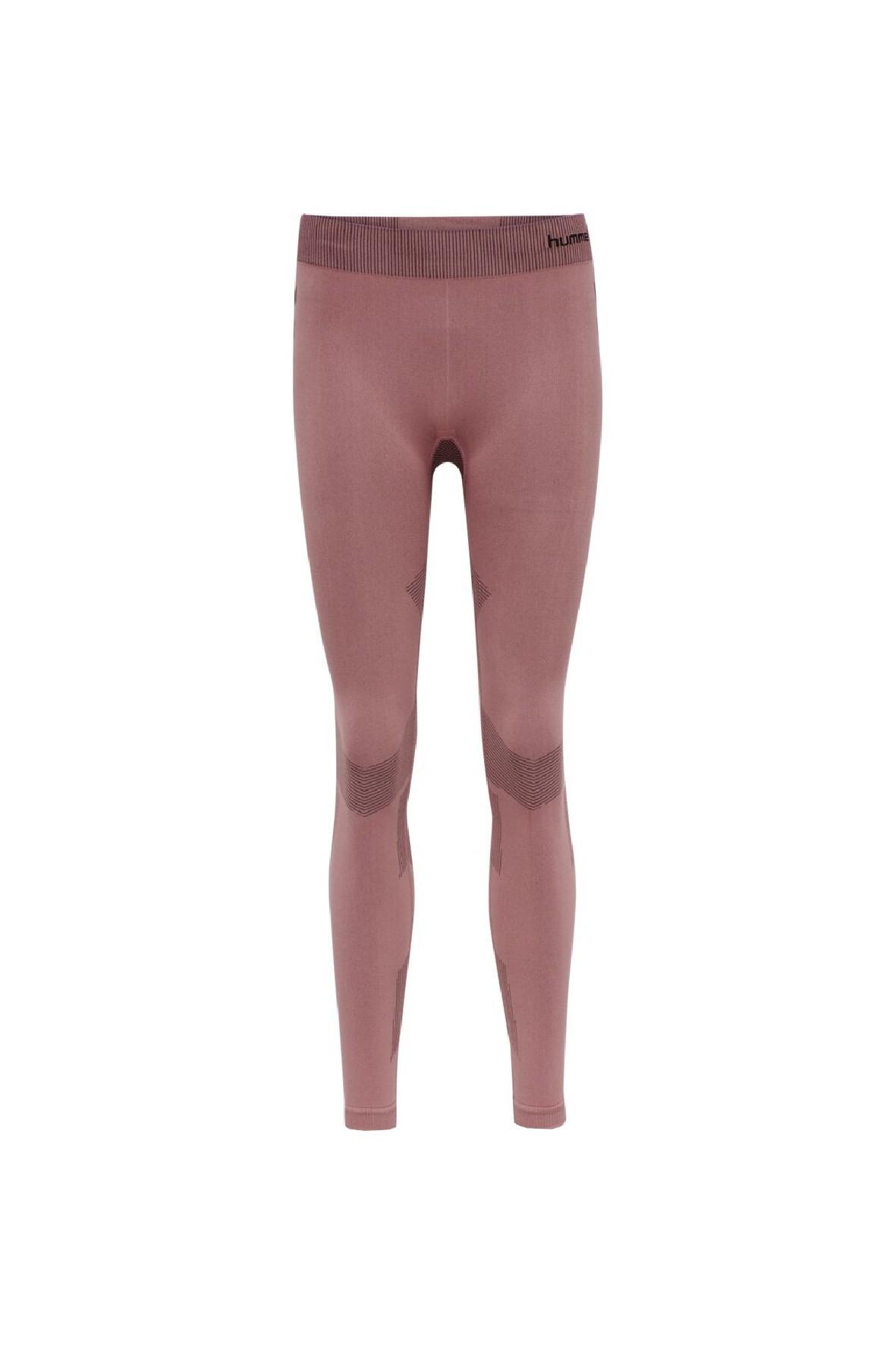Bezszwowe legginsy treningowe damskie Hummel