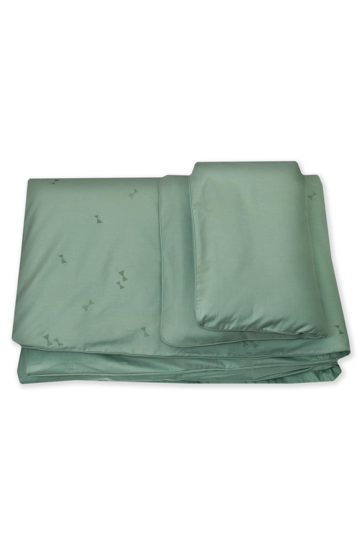 Pościel dla dzieci Amy 2-elementowa zielona 135x100