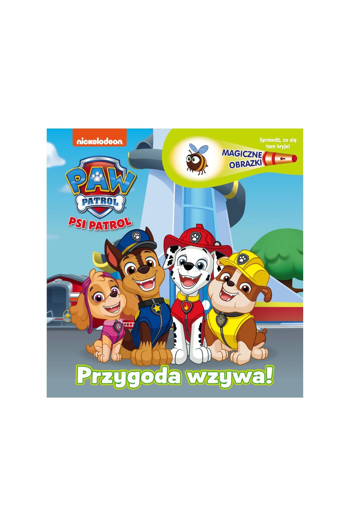 """Książka dziecięca - Psi Patrol. Magiczne obrazki.  Przygoda wzywa!"""""""