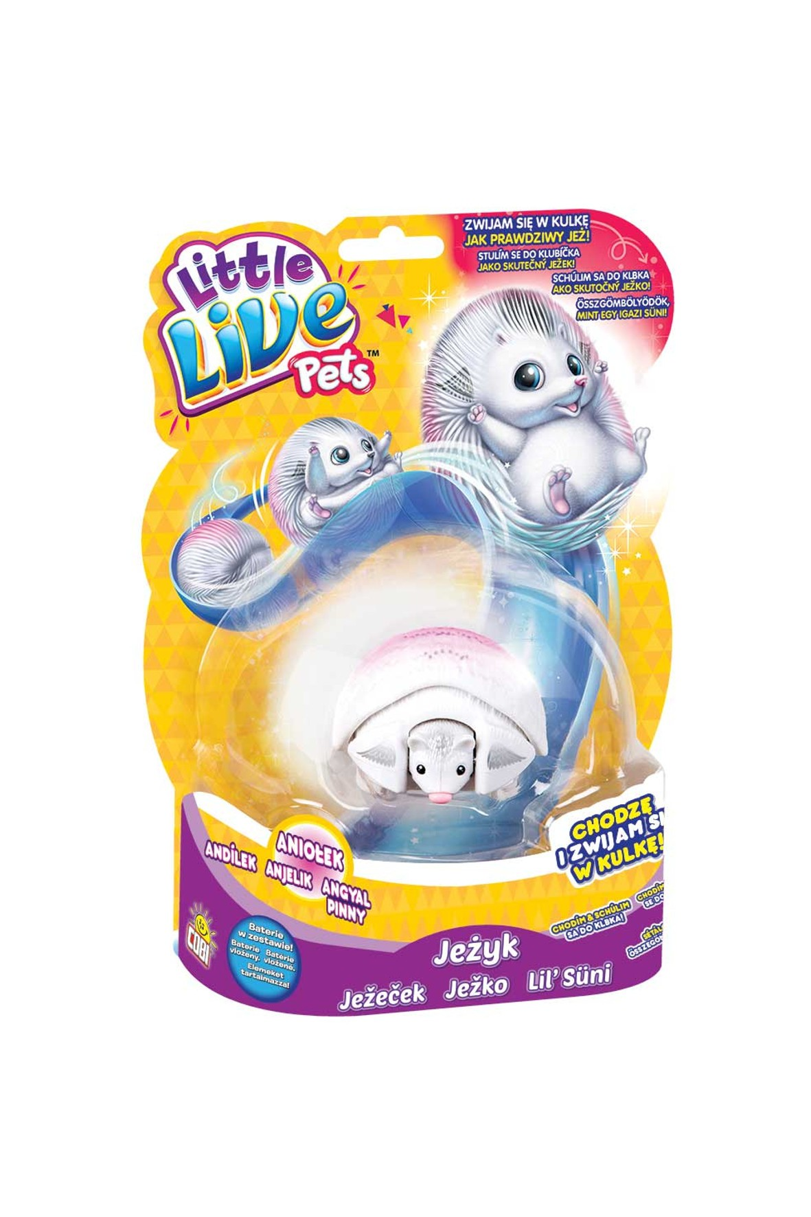 Little Live Pets- Jeżyk