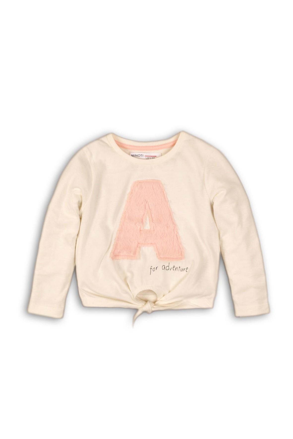 Bluzka niemowlęca z ozdobnym wiązaniem