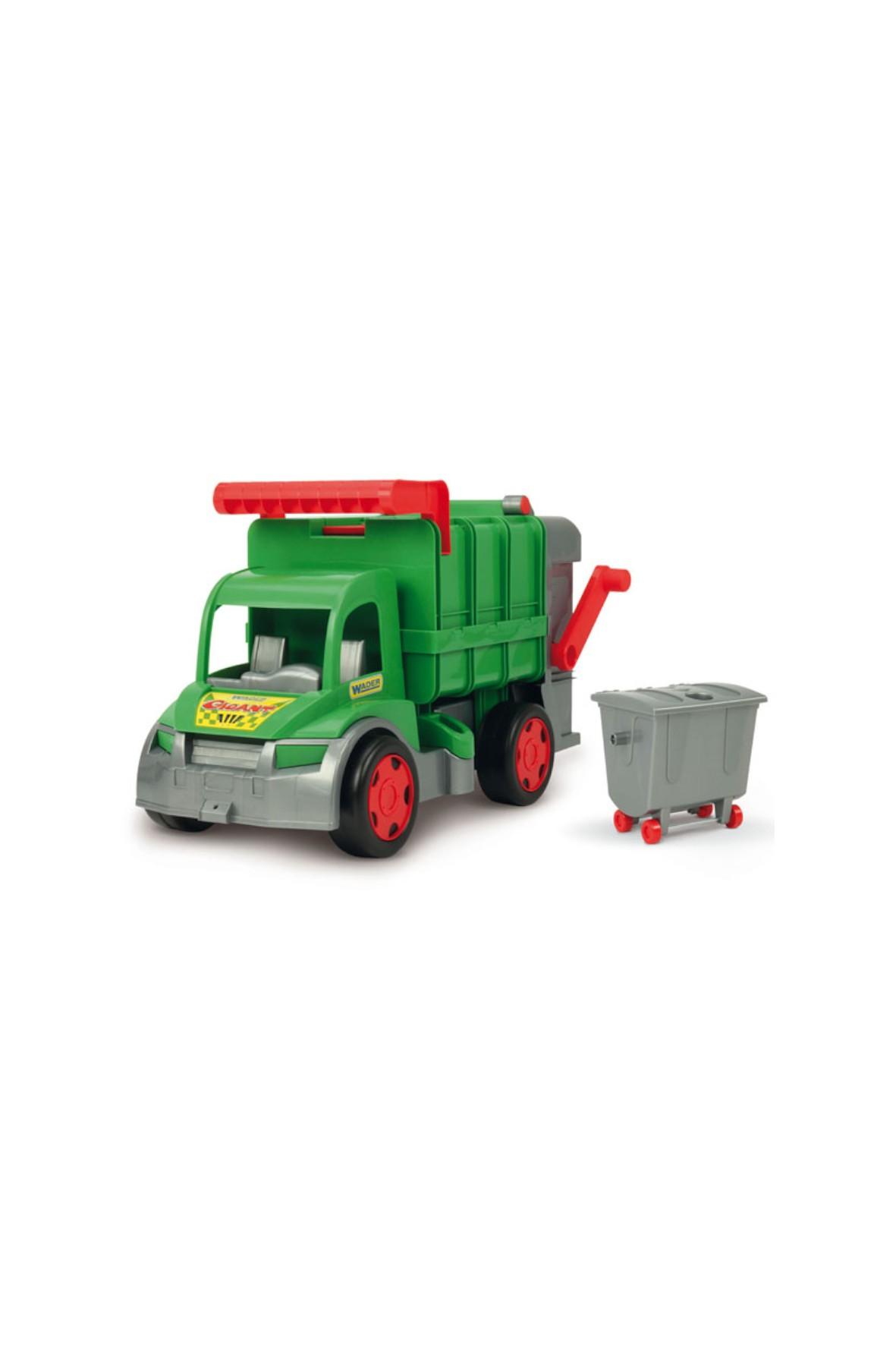 Samochód Gigant śmieciarka Farmer