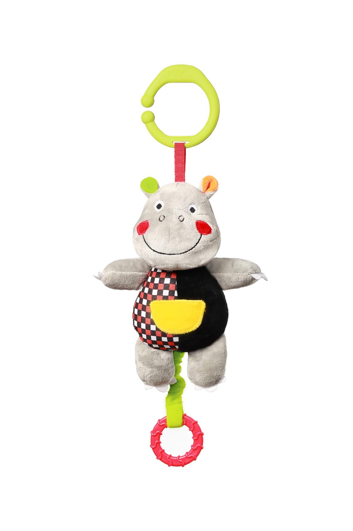 Zabawka dla dzieci z pozytywką Hipopotam Albert