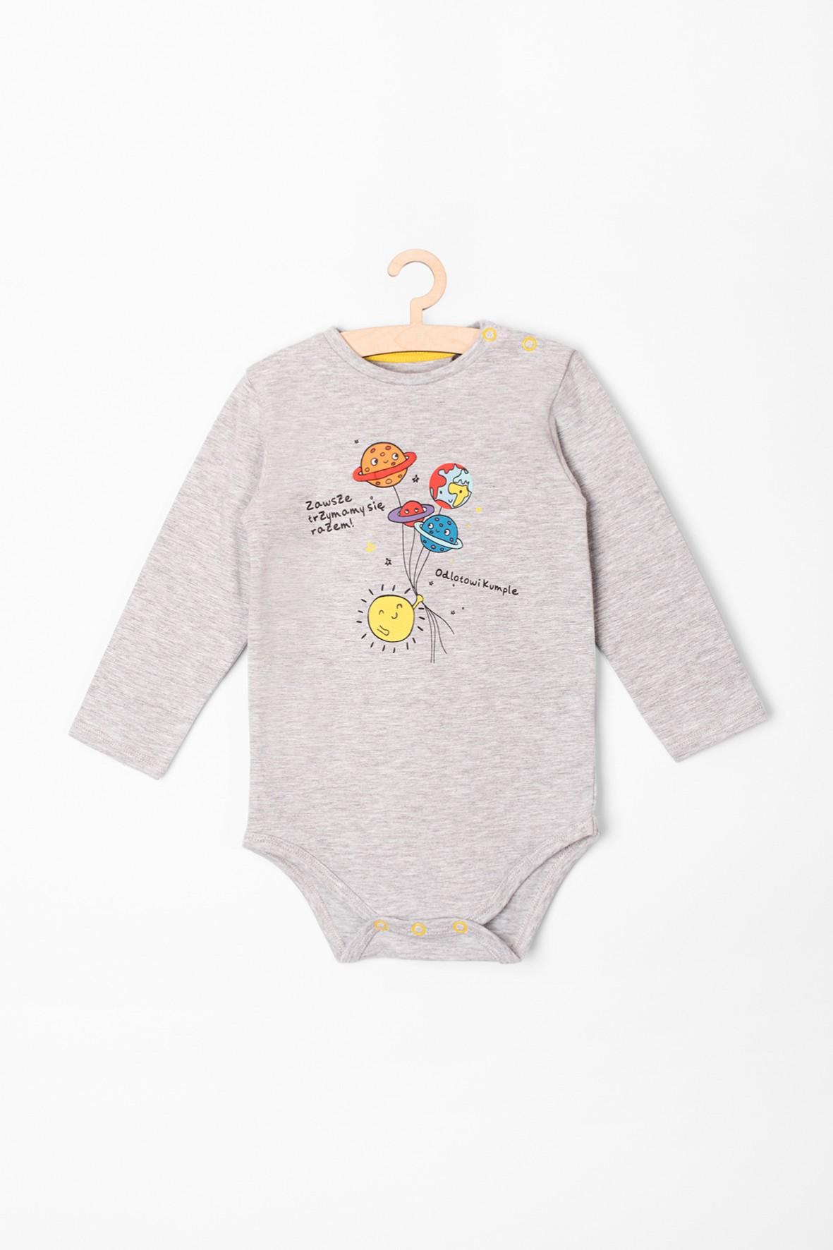 Body niemowlęce z długim rękawem i  nadrukami