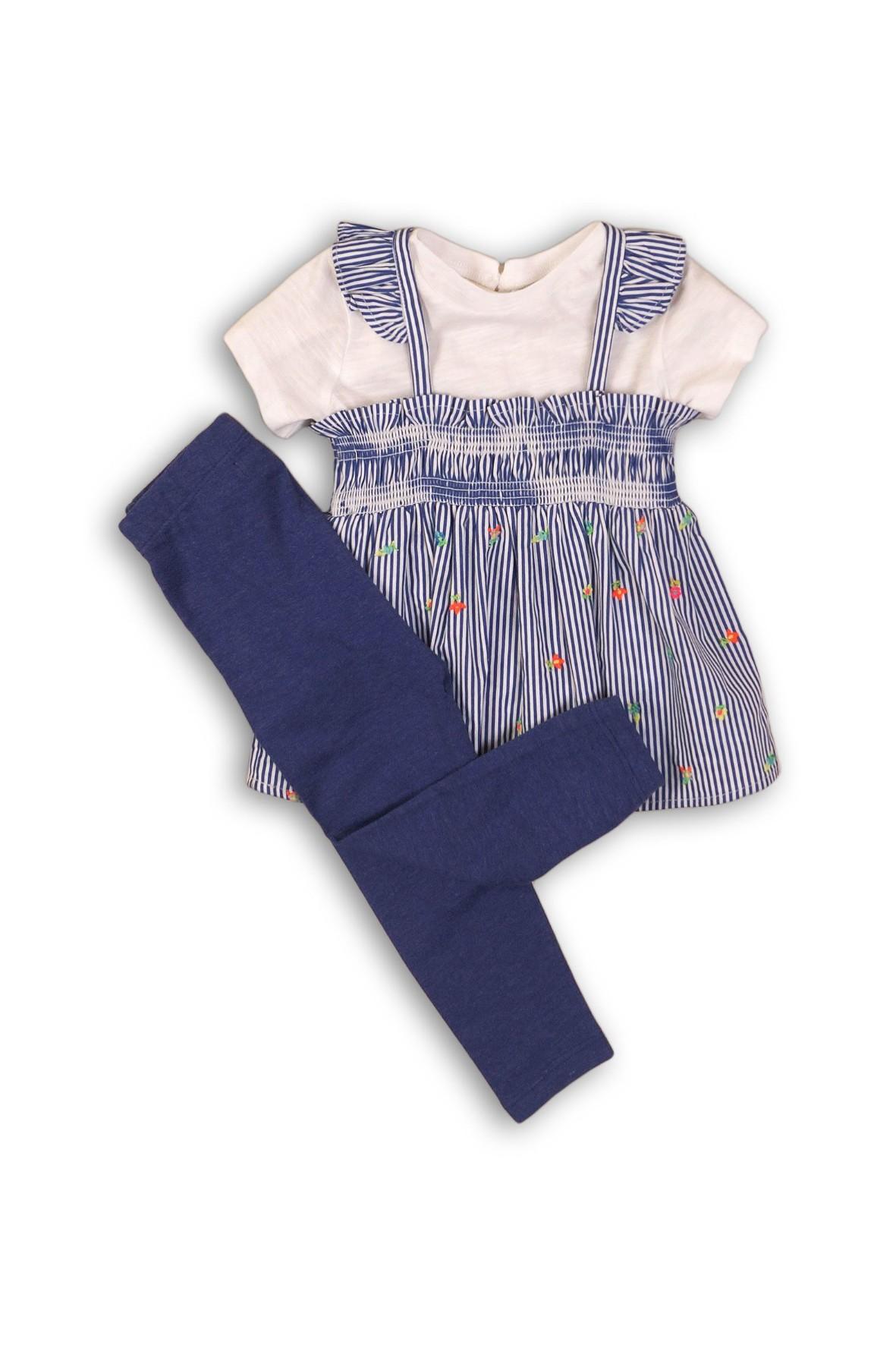 Komplet niemowlęcy tunika i legginsy