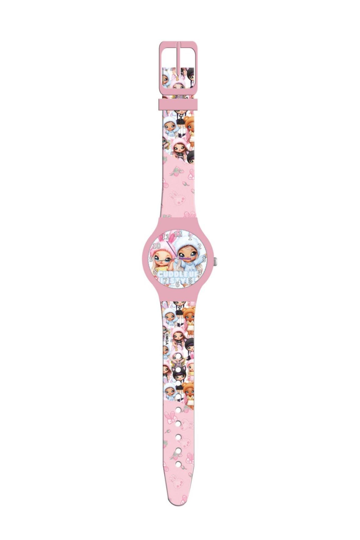 Zegarek analogowy w puszce  NANANA