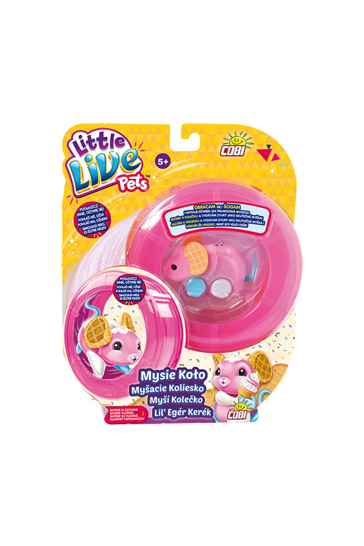 Little Live Pets- Mysie kółko