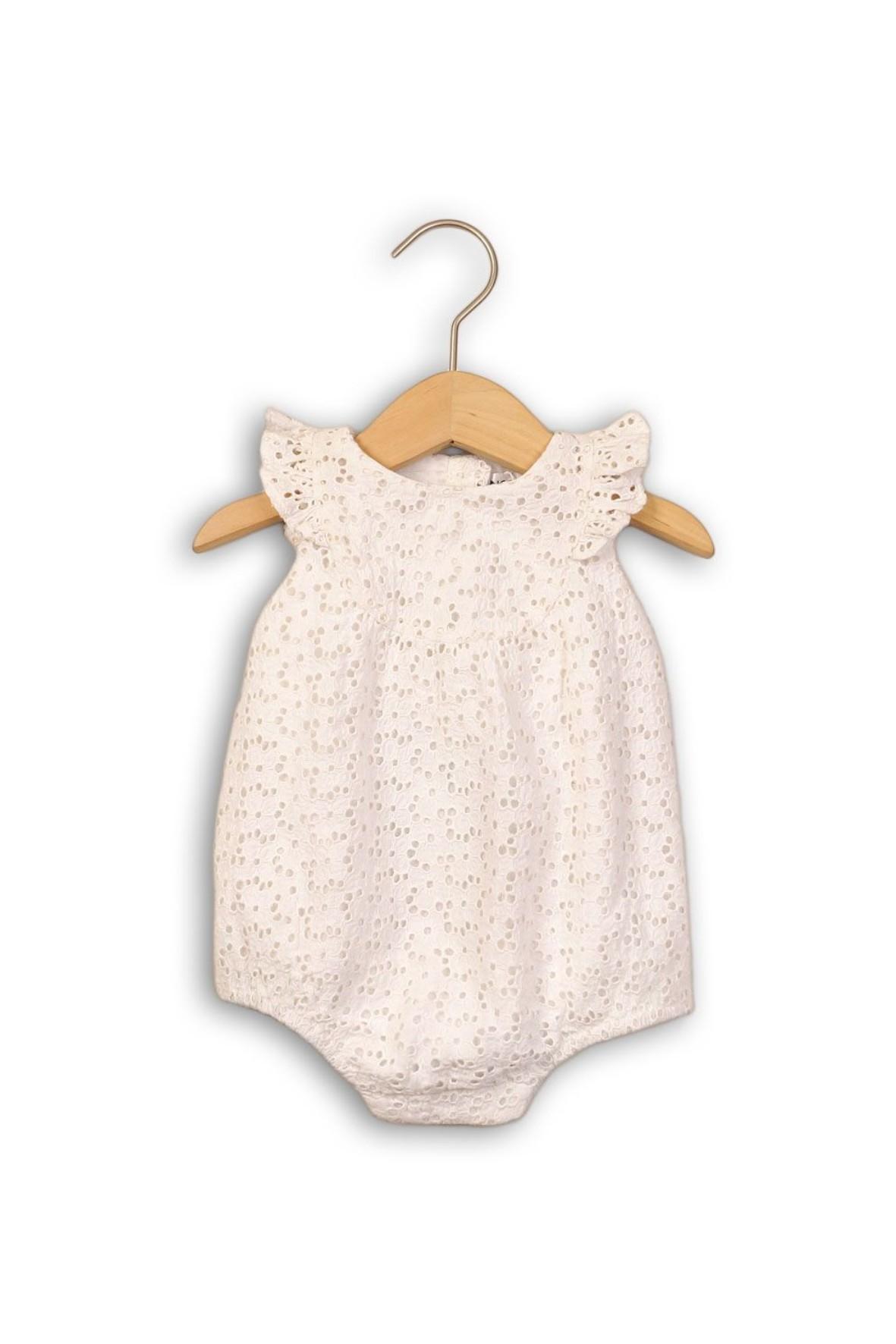 Eleganckie body dla niemowlaka białe