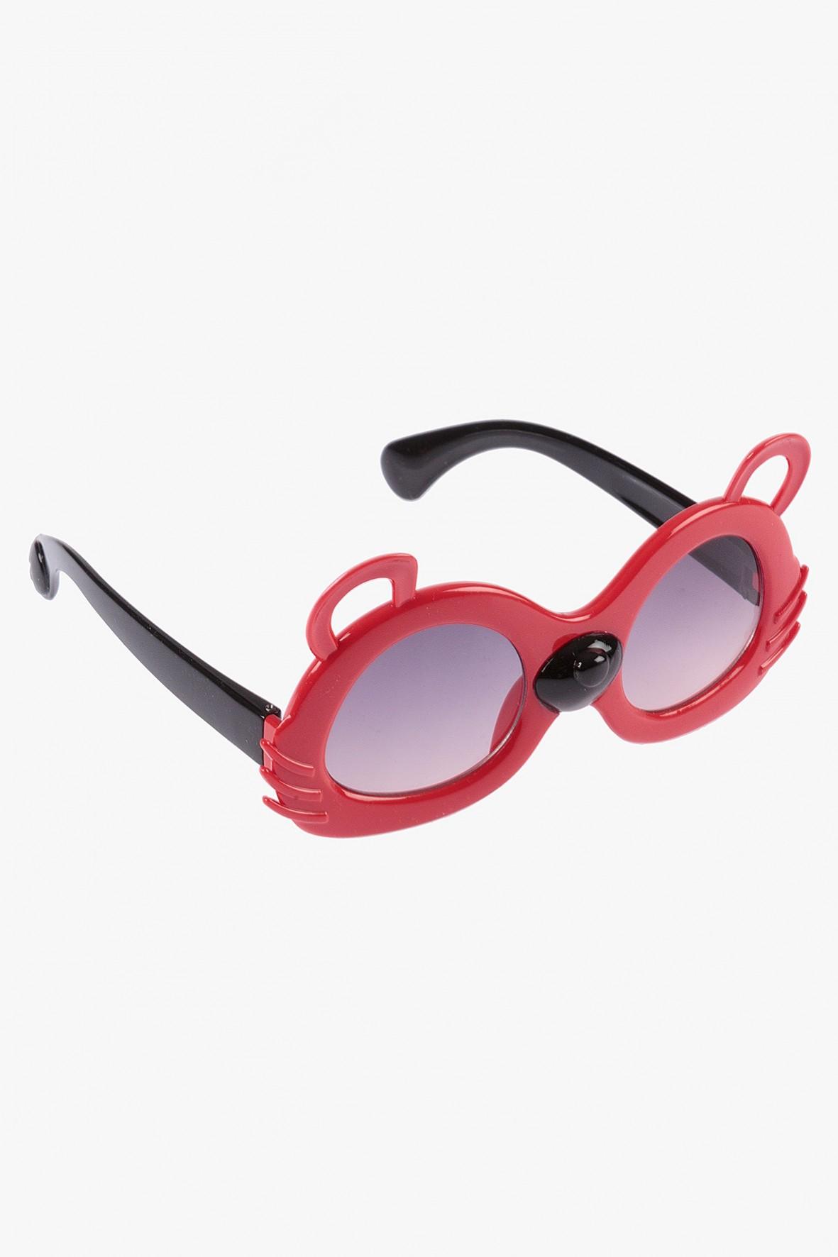 Okulary przeciwłoneczne w kształcie myszki