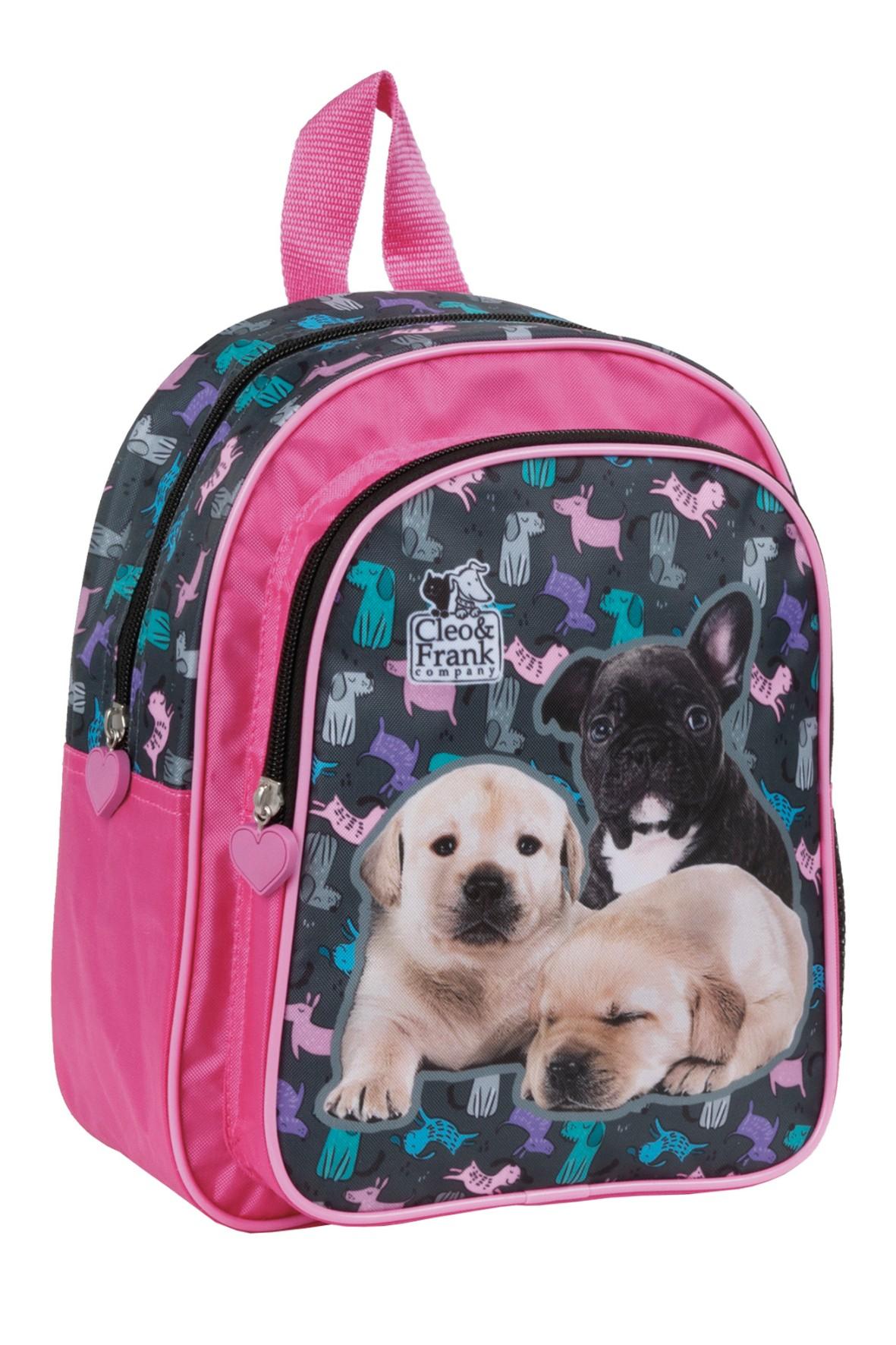 Plecak dla przedszkolaka wielokolorowy- Pieski