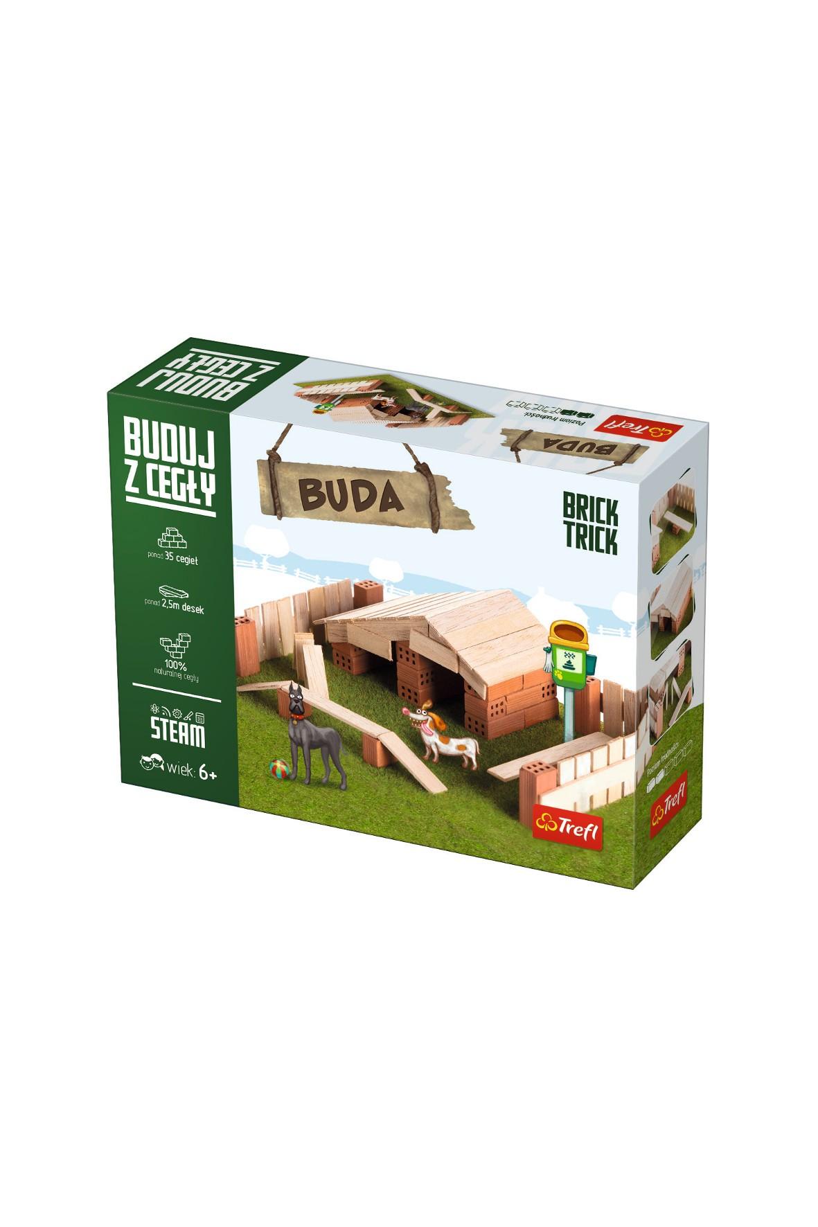 Klocki ceramiczne Brick Trick - Buda