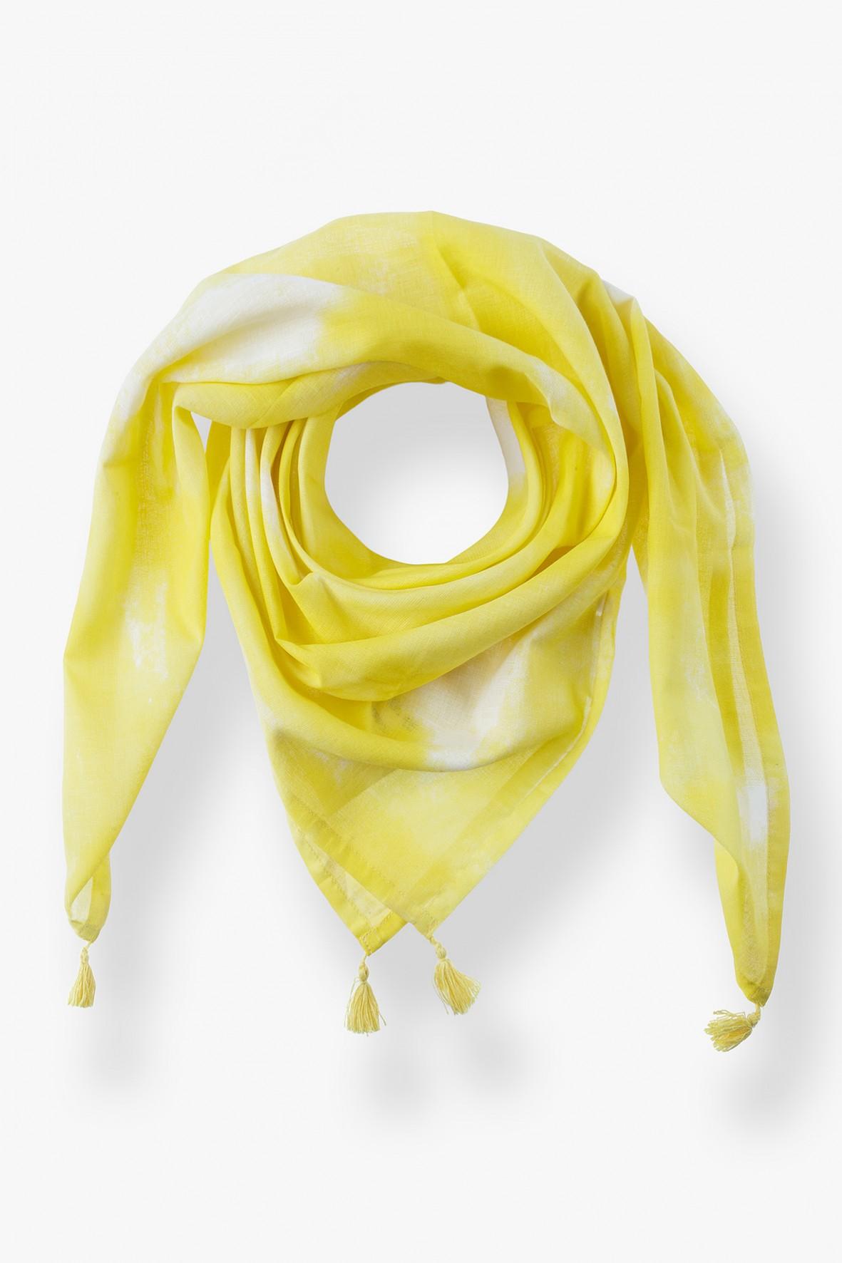 Apaszka pod szyję - zółta