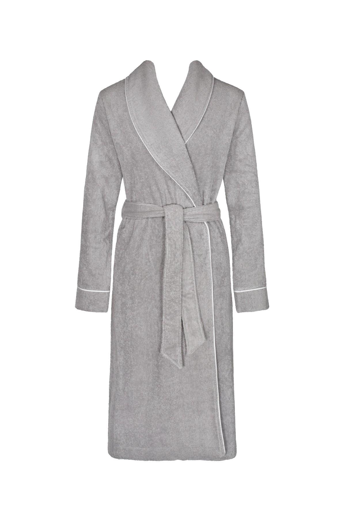 Szary szlafrok damski Triumph Robes Long Robe