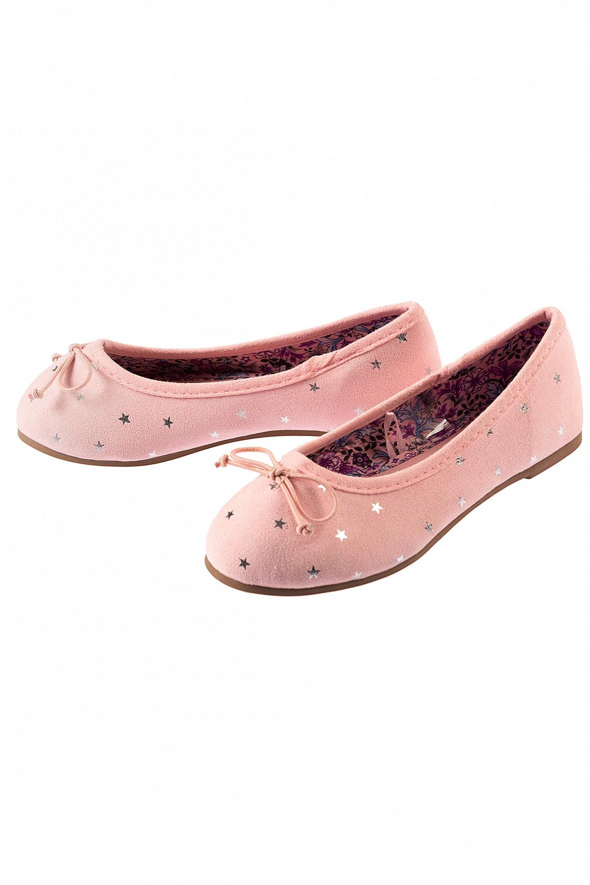 Różowe baleriny- buty dla dziewczynki