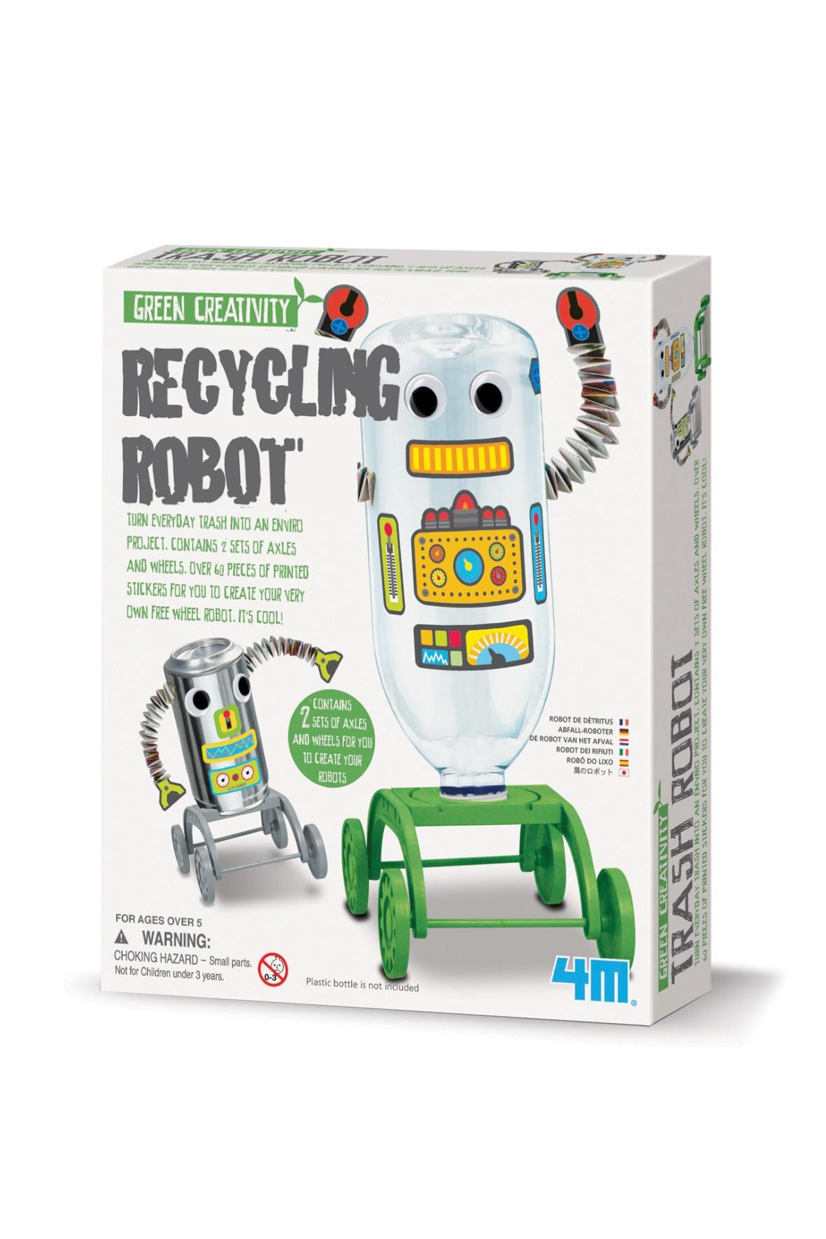 4M Recykling robot wiek 5+