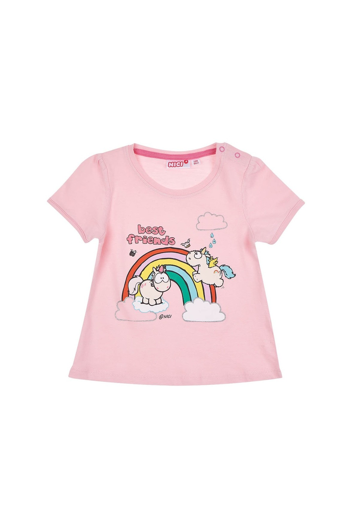 Koszulka niemowlęca NICI- jednorożce 100% Bawełna