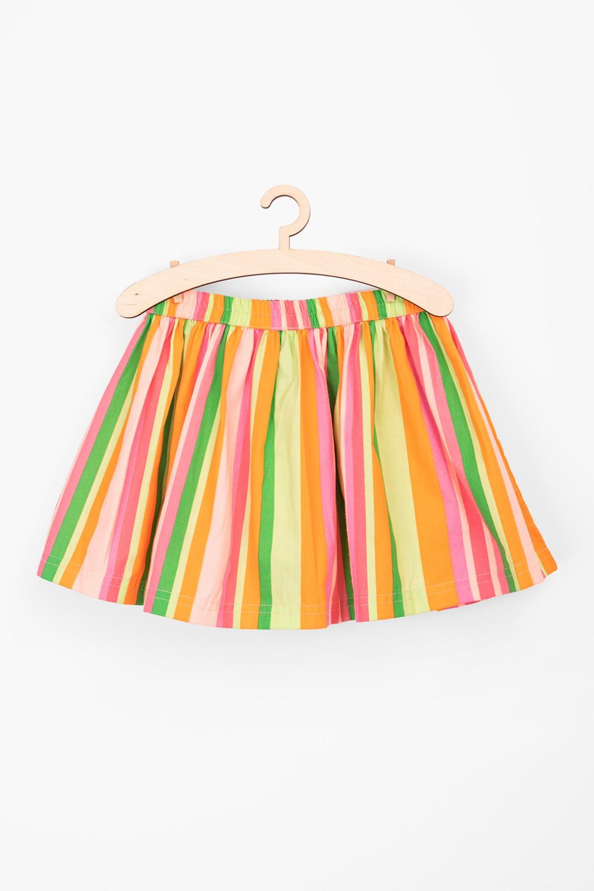 Spódnica dla niemowlaka w kolorowe paski