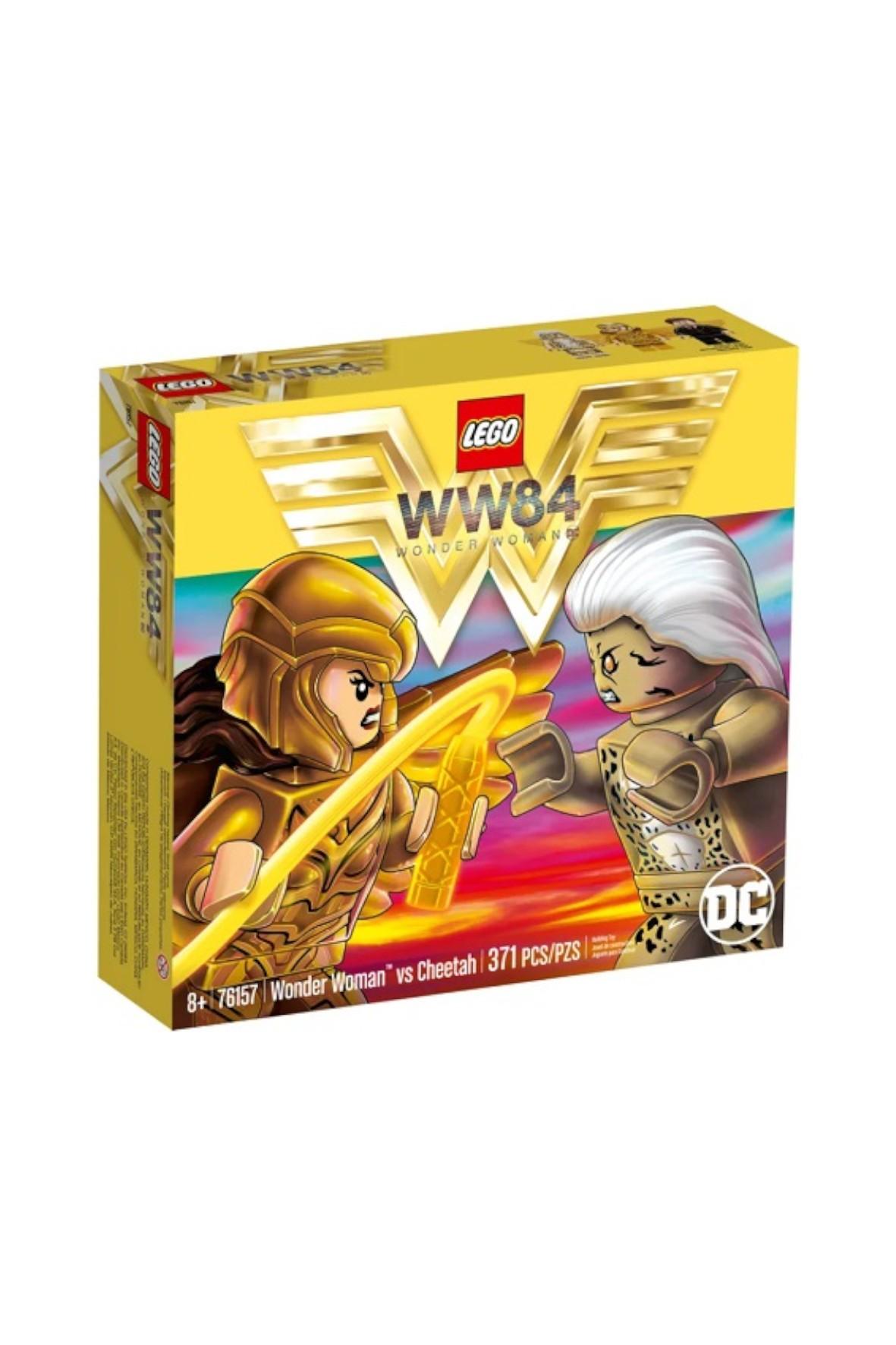 LEGO® DC Wonder Woman™ kontra Cheetah - 371 elementów wiek 8+