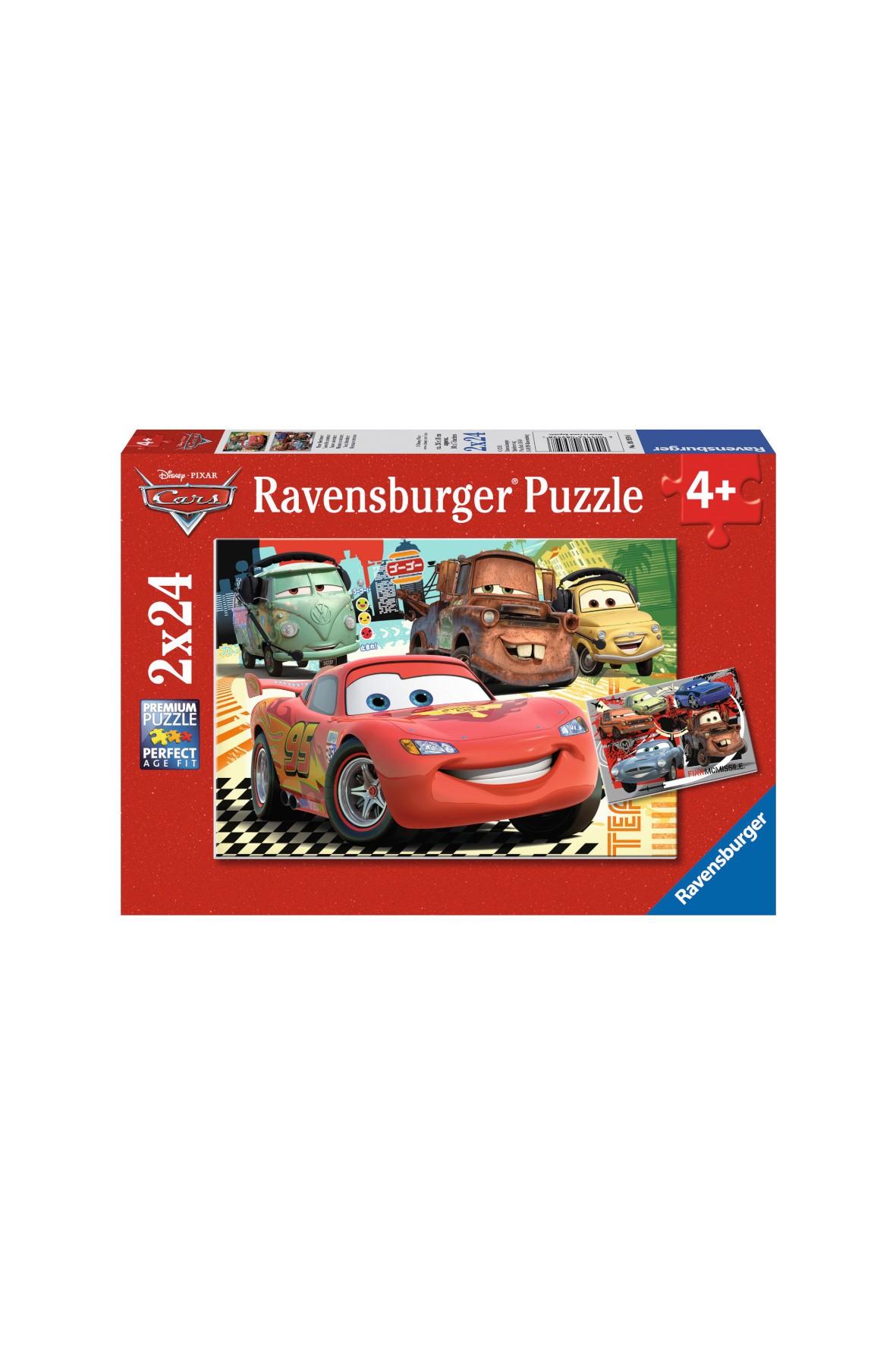 Puzzle Auta - Nowa Przygoda -  2 x 24 elementy 4+