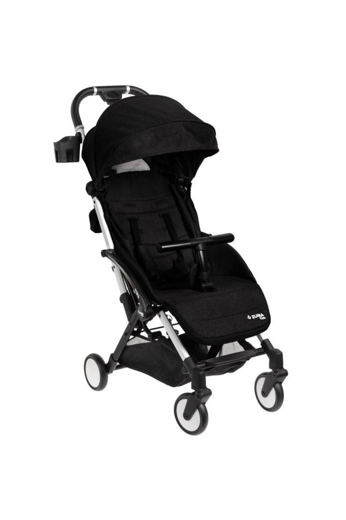 Zuma Kids Wózek Spacerowy Mini Czarny 6-36msc