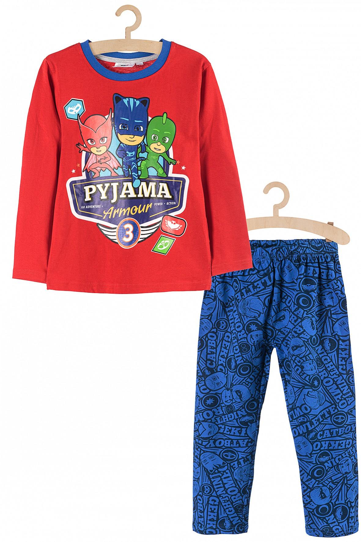 Piżama chłopięca Pidżamersi czerwona