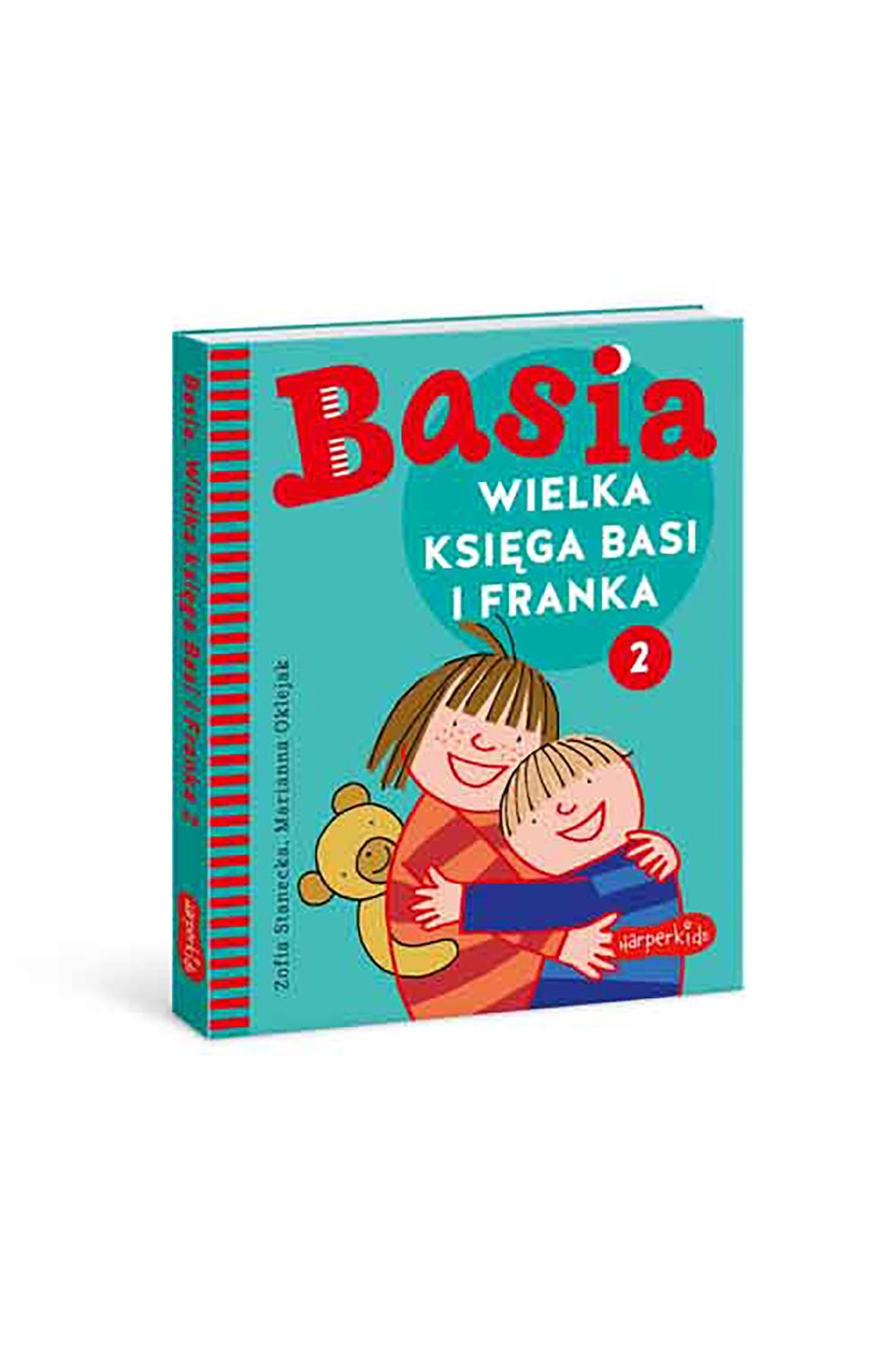 Wielka Księga Basi I Franka 2 - książka dla dzieci-