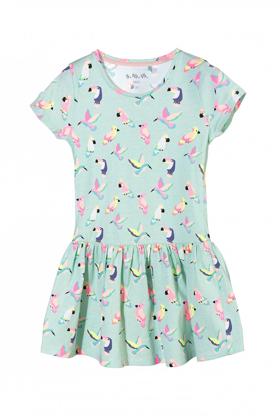 Sukienka dziewczęca 100% bawełna 3K3414