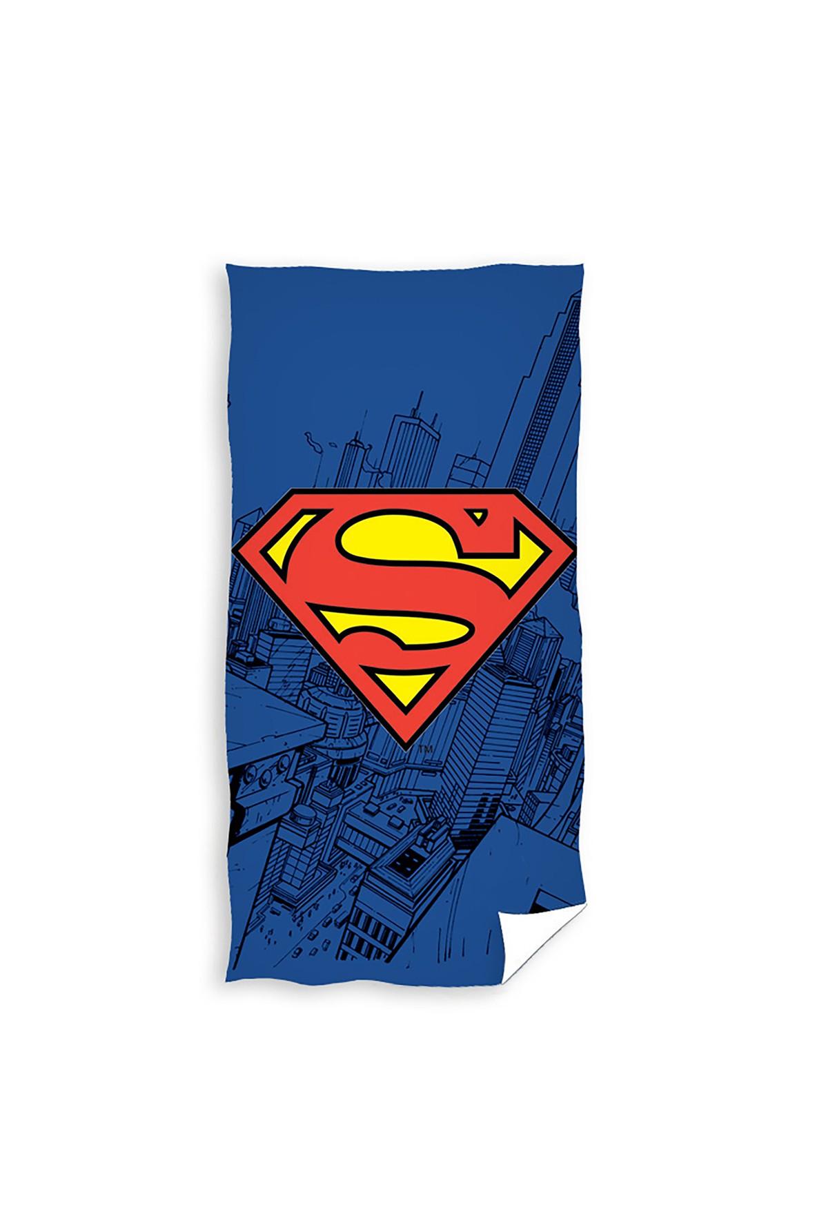 Ręcznik kąpielowy  SuperMan  bawełniany 70x140 cm
