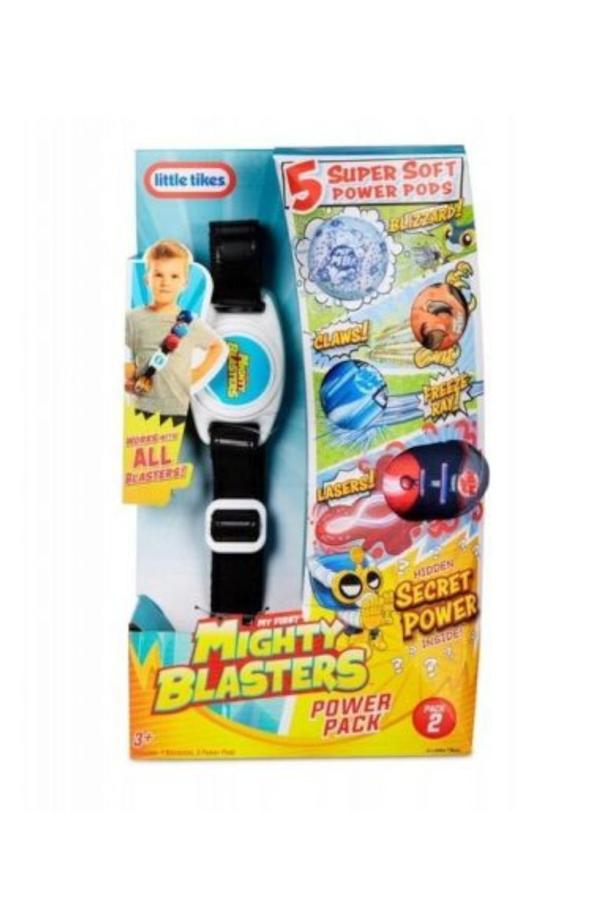 Miotacz My First Mighty Blasters Power Pack- Style 2