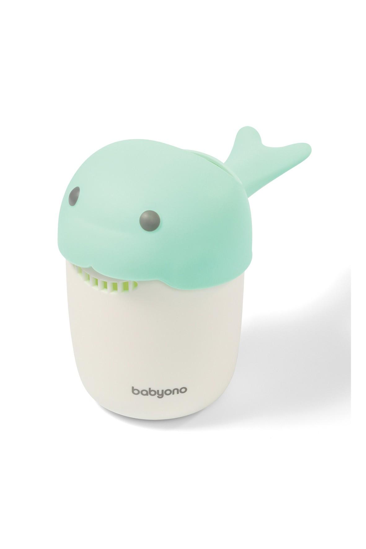Kubek do mycia głowy Wieloryb zielony