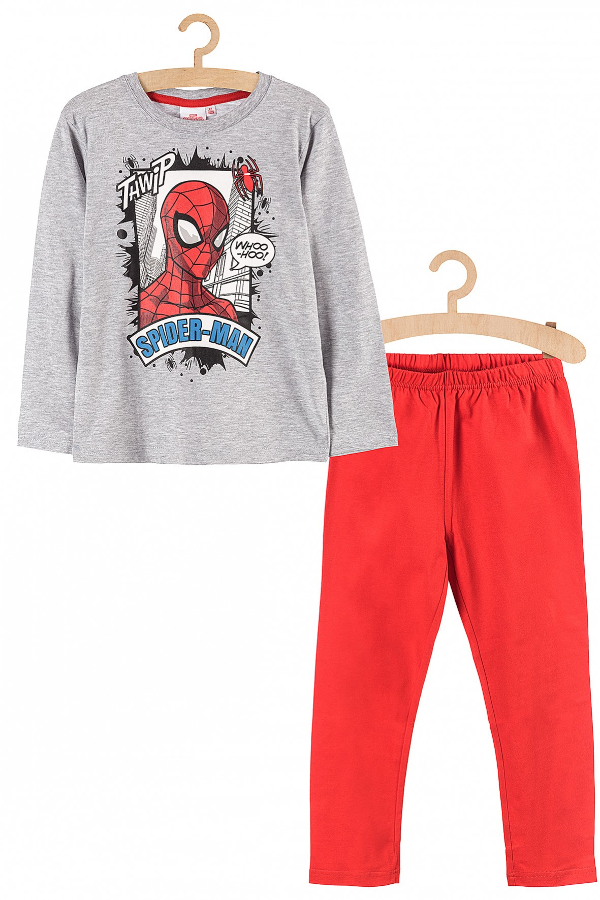 Piżama dla chłopięca Spiderman