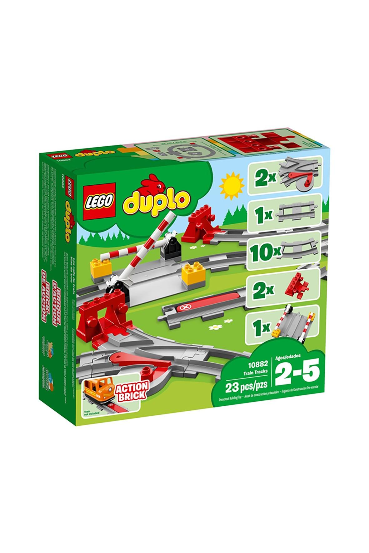 LEGO DUPLO Tory kolejowe 10882 wiek 2-5