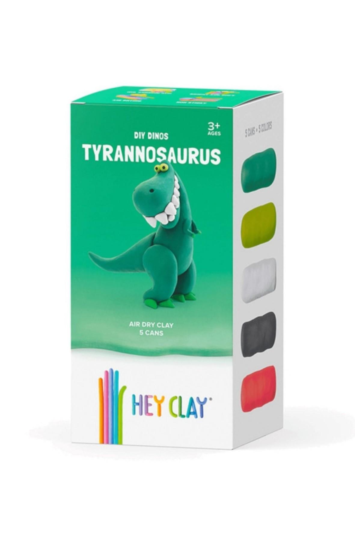Hey Clay Masa Plastyczna Tyranozaur wiek 3+