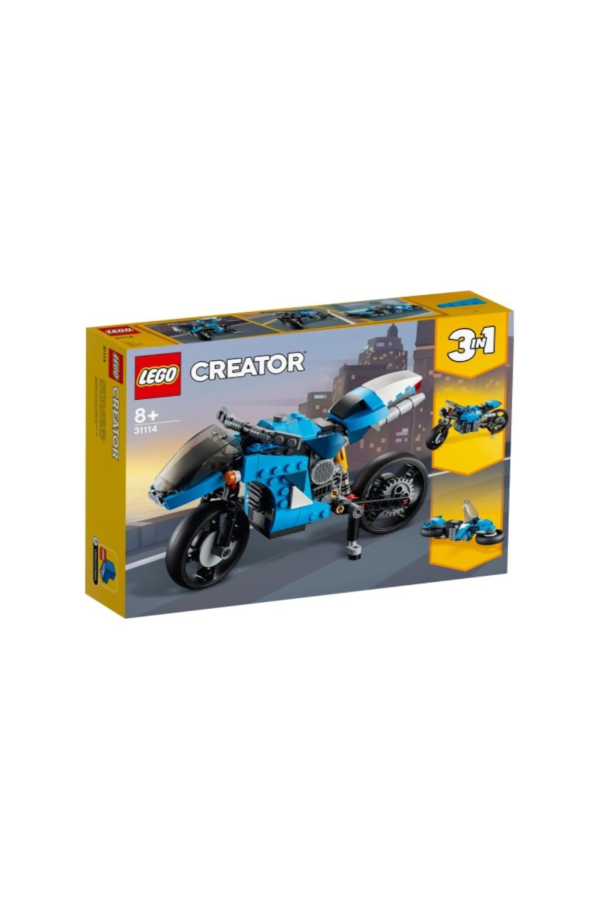 LEGO Creator - Supermotocykl - 236 el