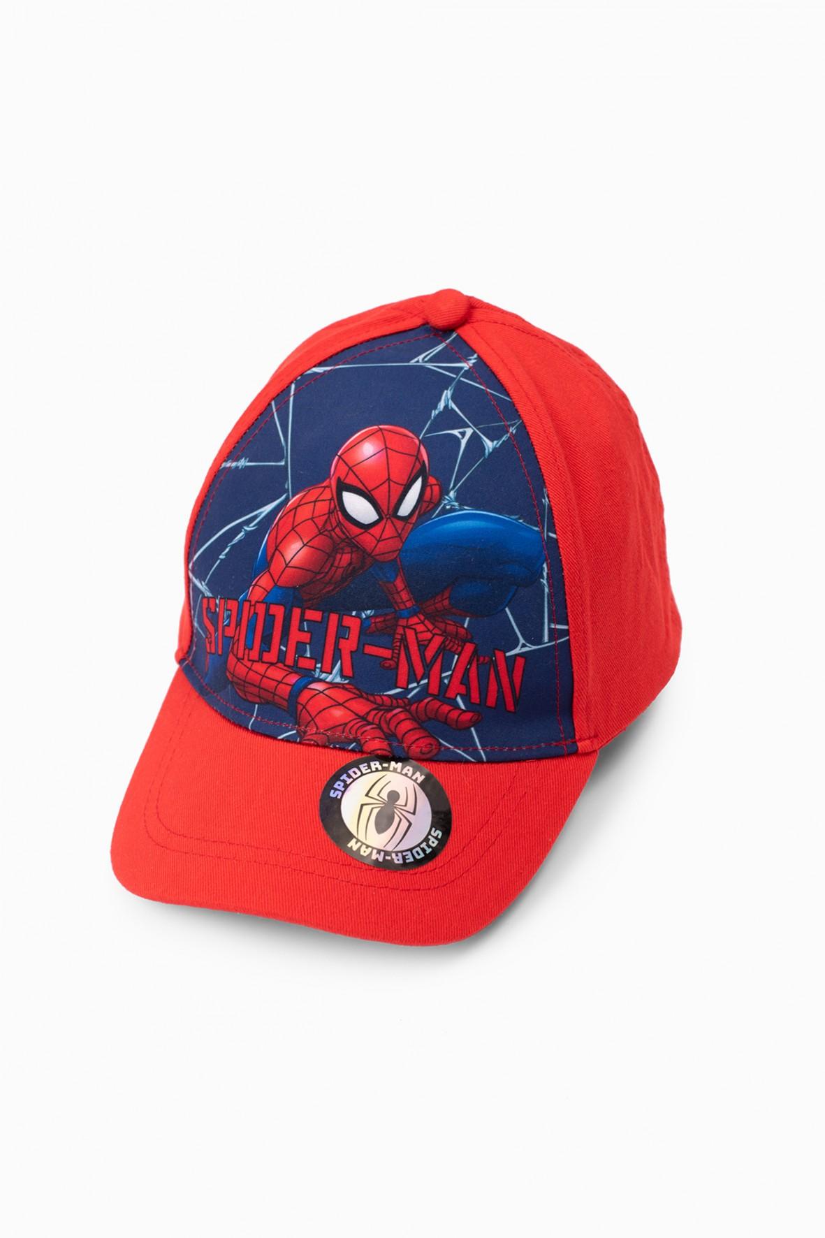 Czapka chłopięca z daszkiem Spiderman