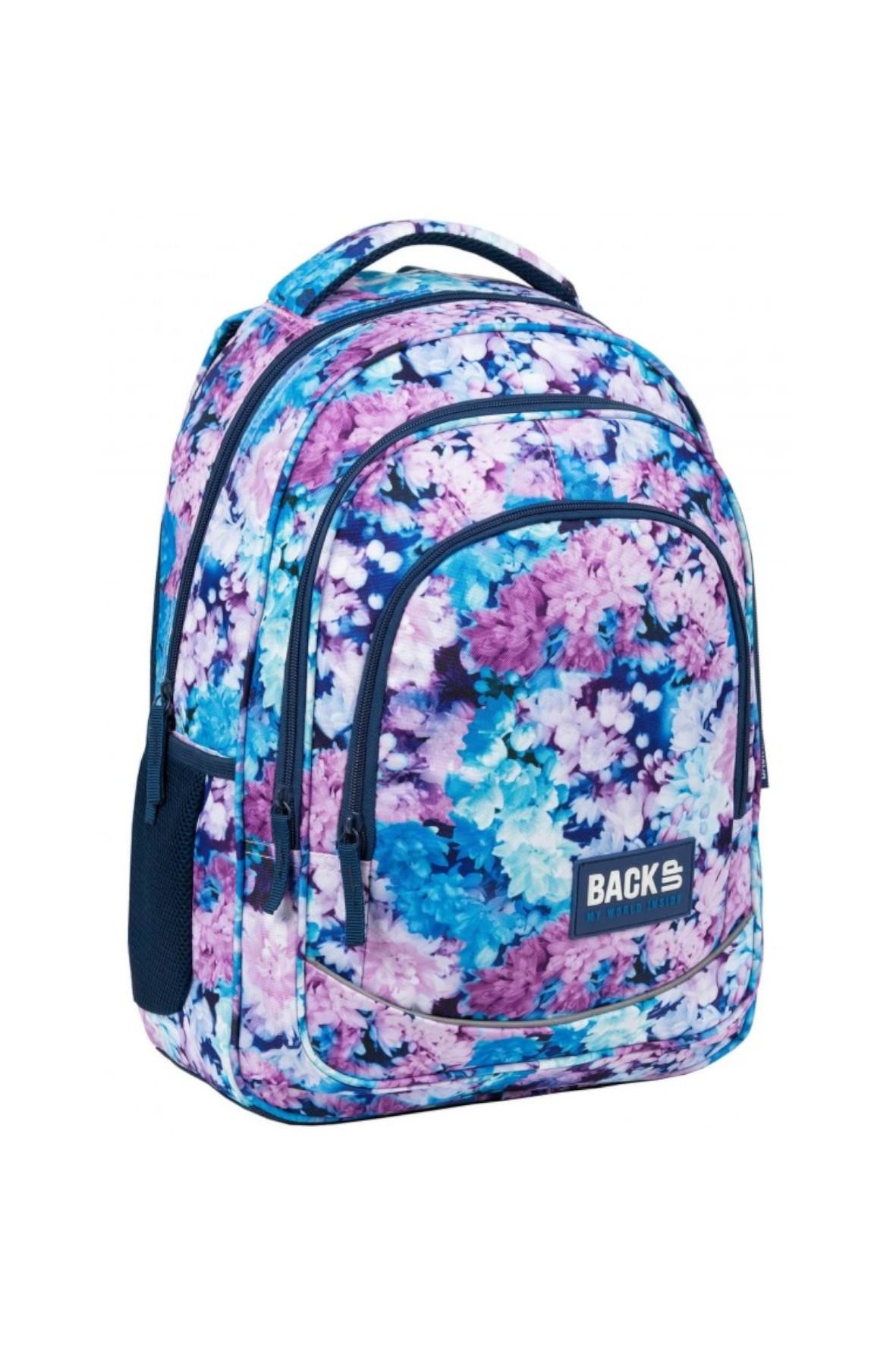 Plecak dziewczęcy do szkoły Bzy