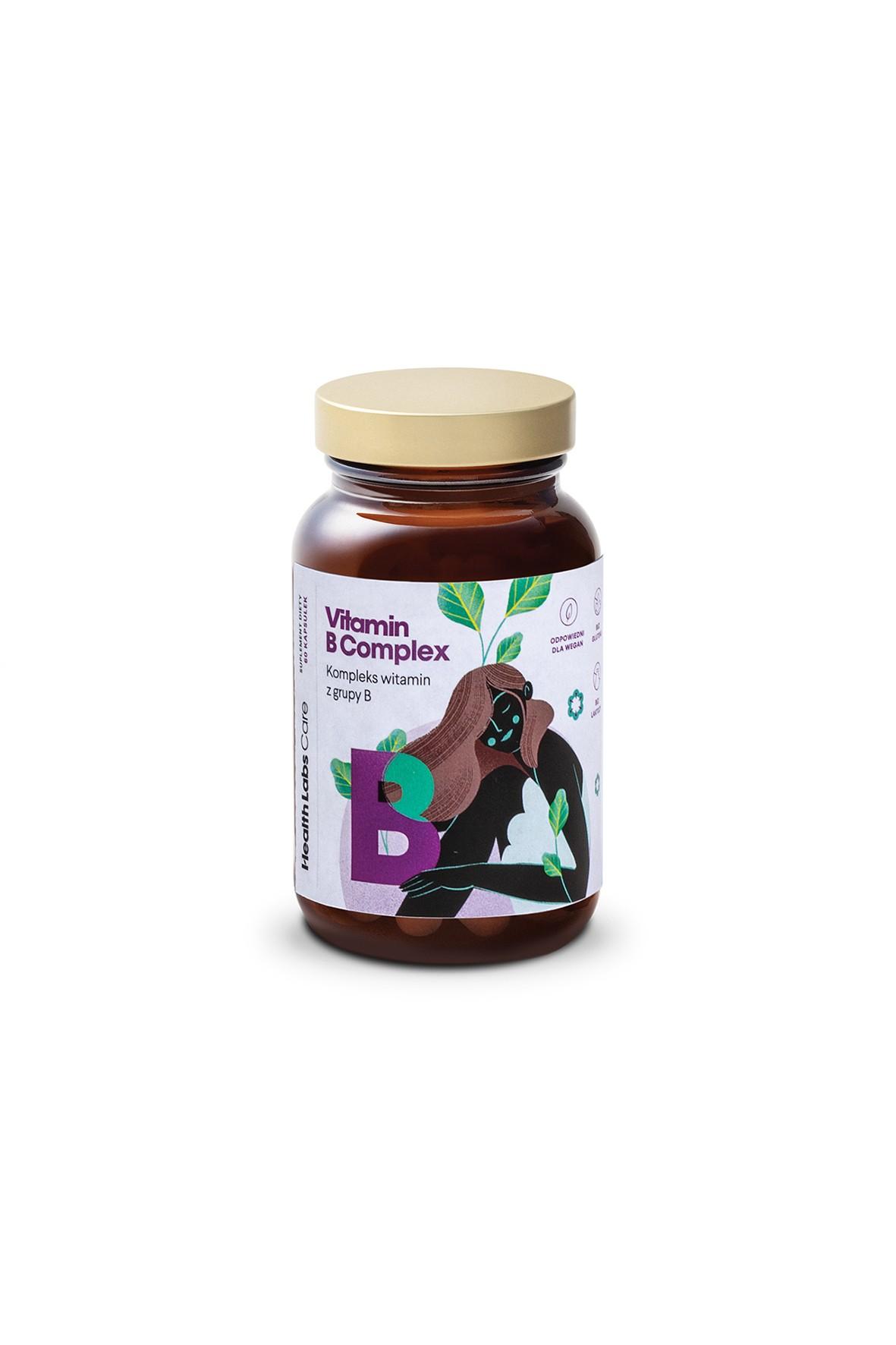 HealthLabs Vitamin B Complex - 60 kapsułek